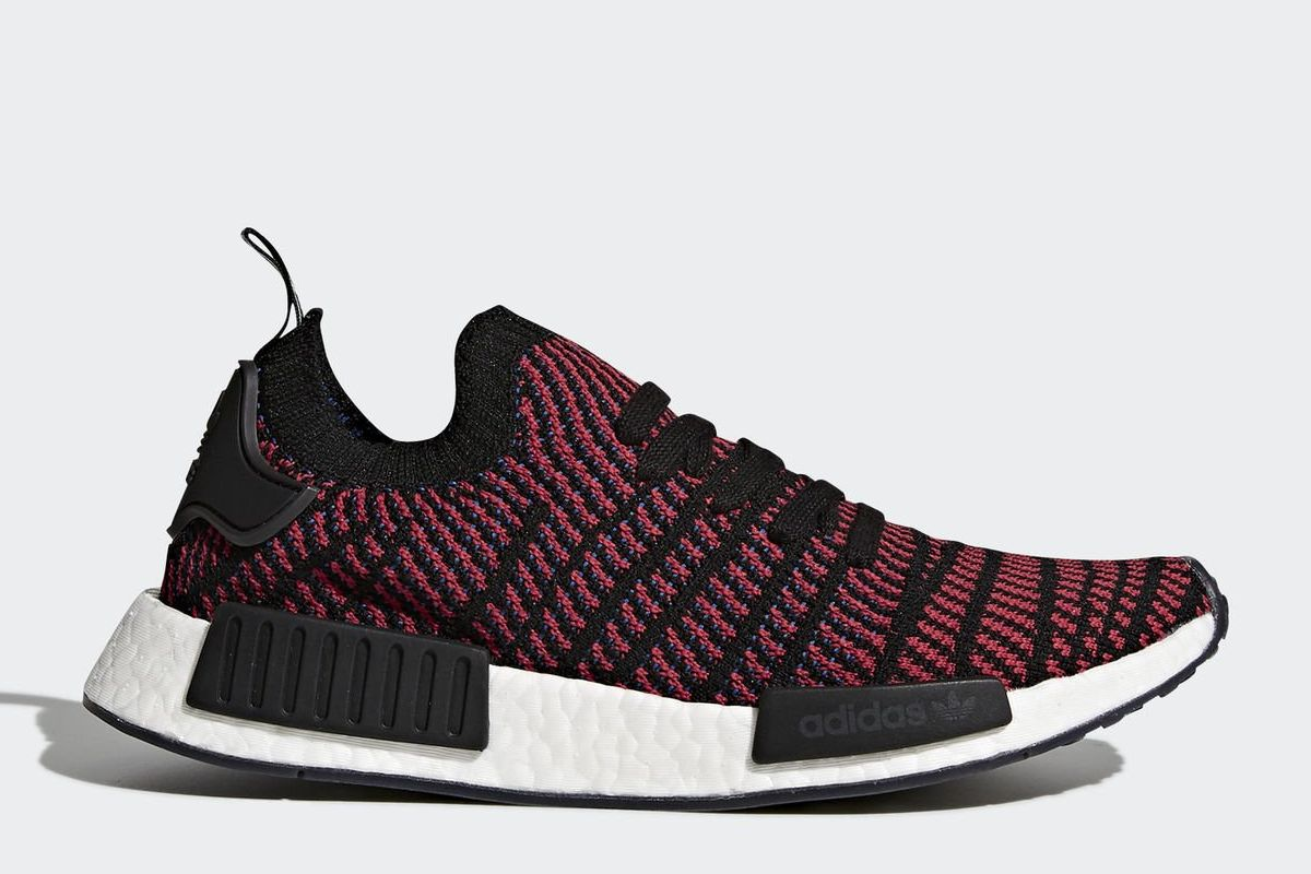 adidas nmd r1 stlt rot sneakerkompass. Black Bedroom Furniture Sets. Home Design Ideas