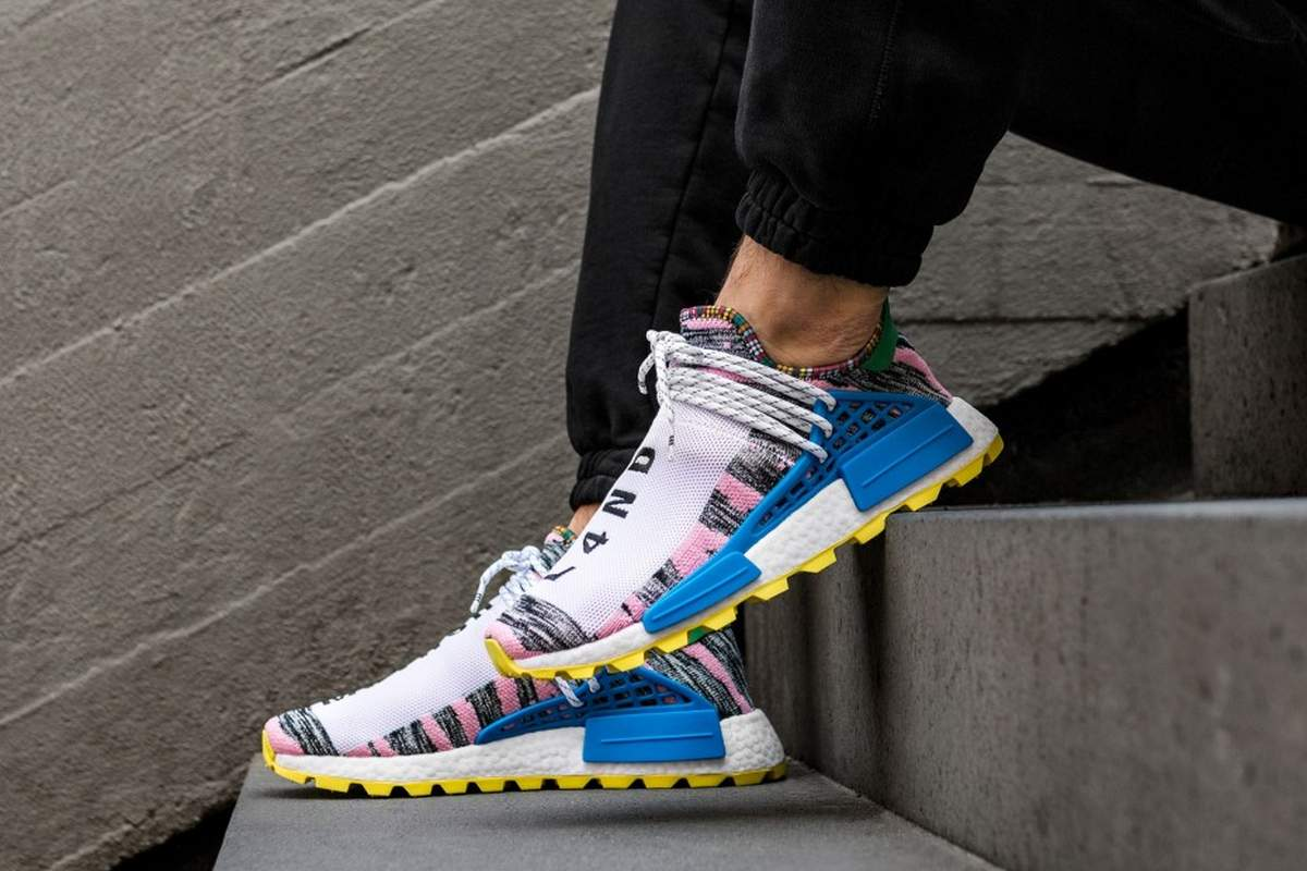 running shoes check out new photos ᐅ • Pharrell Williams Adidas NMD Afro SolarHU · Cool ...