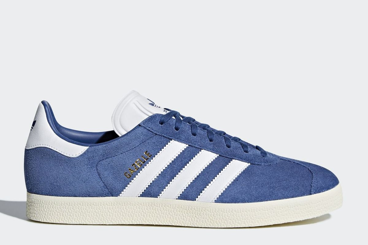 adidas gazelle blau sneakerkompass. Black Bedroom Furniture Sets. Home Design Ideas