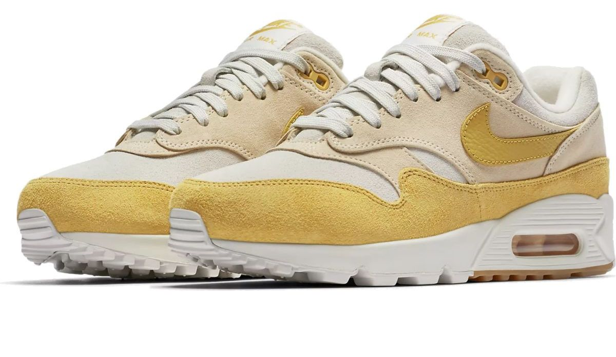 best price nike air max 90 gelb gold 53cbd 95ef2