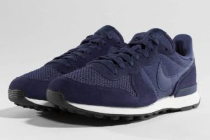 nike internationalist blau blaue sneakers herren