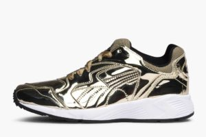 puma prevail gold damen goldene sneaker damen