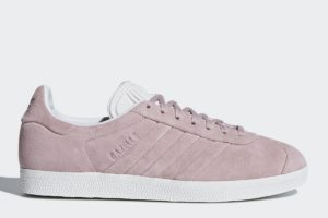 adidas gazelle stitch and turn damen rosa rosa sneakers damen