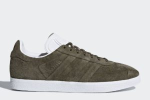 adidas gazelle stitch and turn herren braun braune sneakers herren