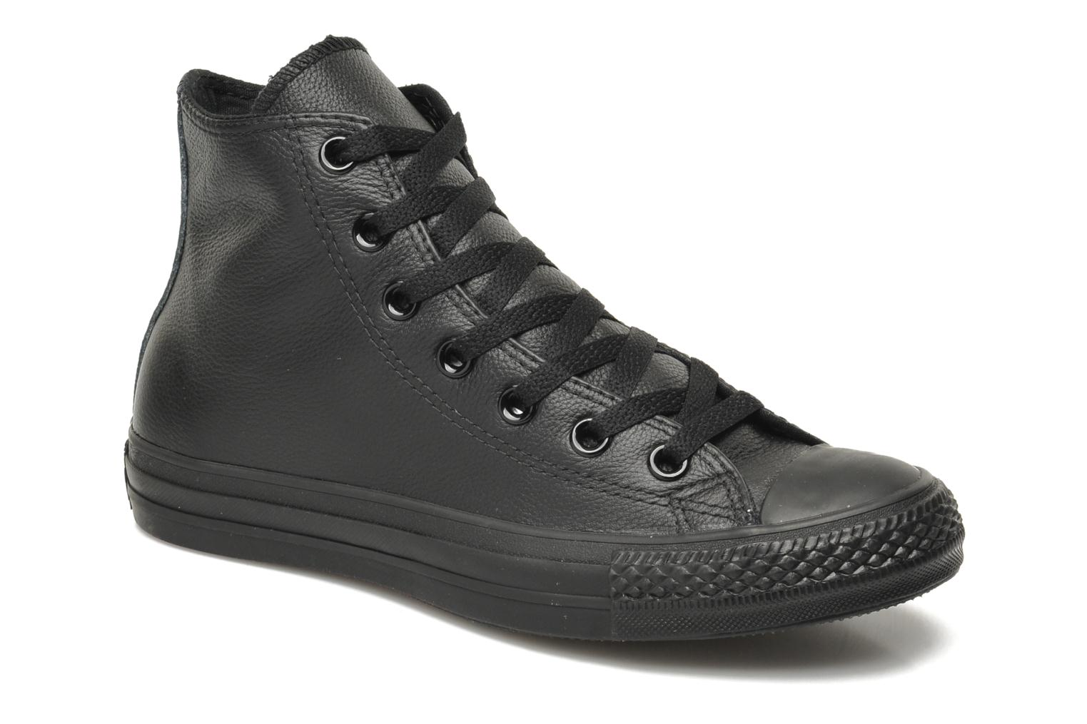 converse-chucks all star high-damen-schwarz-135251c-schwarze-sneakers-damen