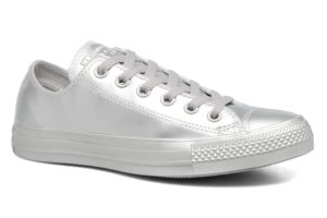 converse-chucks all star ox-damen-silber-157663c-silberne-sneakers-damen