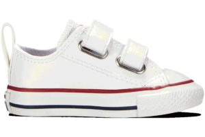 converse-chucks all star ox-weiß-jungen