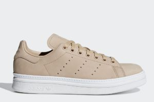 adidas stan smith new bold damen beige beige sneakers damen