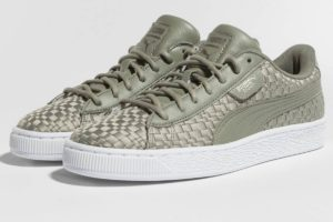 puma basket grau graue sneakers damen