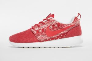 nike roshe run rot rote sneakers damen