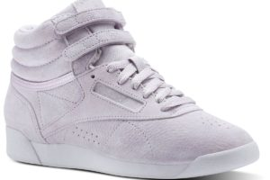reebok freestyle high nbk damen rosa rosa sneakers damen