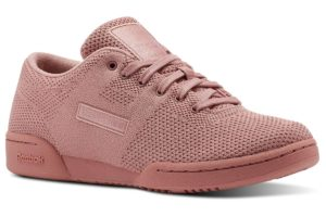reebok workout clean ultraknit damen rosa rosa sneakers damen