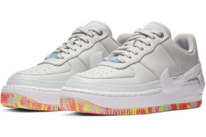 "Release: Nike Air Force 1 Damen Silber ""Jester XX Print"""