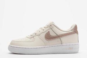 nike air force 1 beige beige sneakers jungen