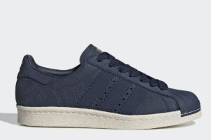 adidas superstar 80s damen blau blaue sneakers damen