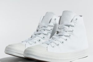 converse chucks all star high weiß weiße sneakers herren