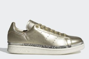 adidas stan smith new bold damen gold goldene sneakers damen