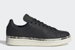 adidas stan smith new bold damen schwarz schwarze sneakers damen