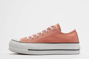converse chucks all star ox orange orange sneakers damen