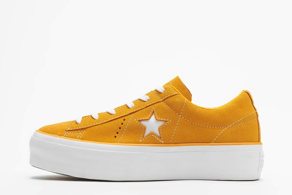 converse one star orange orange sneakers damen