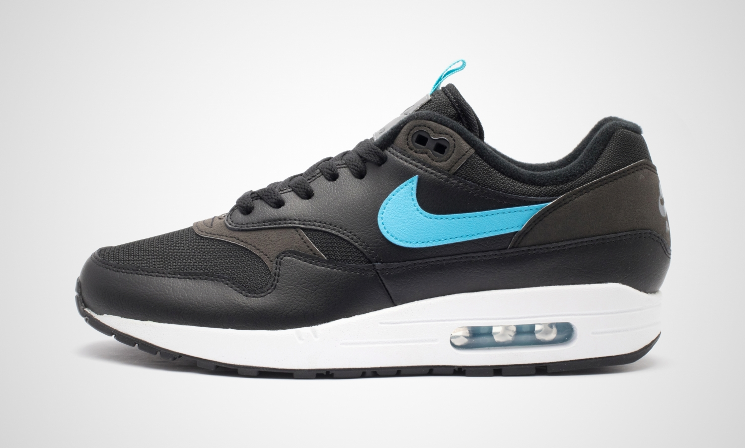 timeless design 72b0d aa493 nike-air max 1-herren-schwarz-cd1530 001-schwarze-sneakers