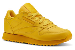 reebok classic leather ripple damen gold goldene sneakers damen