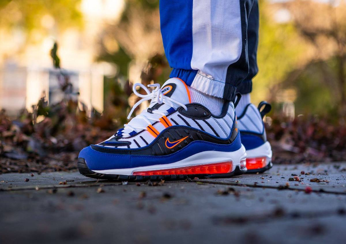Nike Air Max 98 Multicolor Cd1536 100 Deep Royal Blue 18