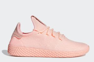 adidas pharrell williams tennis damen orange orange sneakers damen