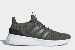 adidas cloudfoam ultimate damen grün grüne sneakers damen