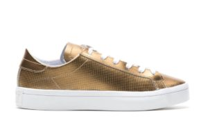 adidas court vantage gold goldene sneakers damen