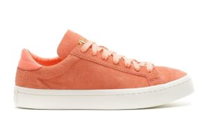 adidas court vantage orange orange sneakers damen