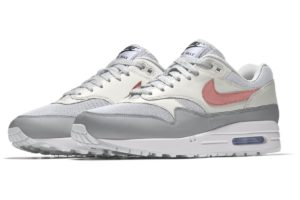 Nike Air Max 1 Dames Rood 943757 901 Rode Sneakers Dames