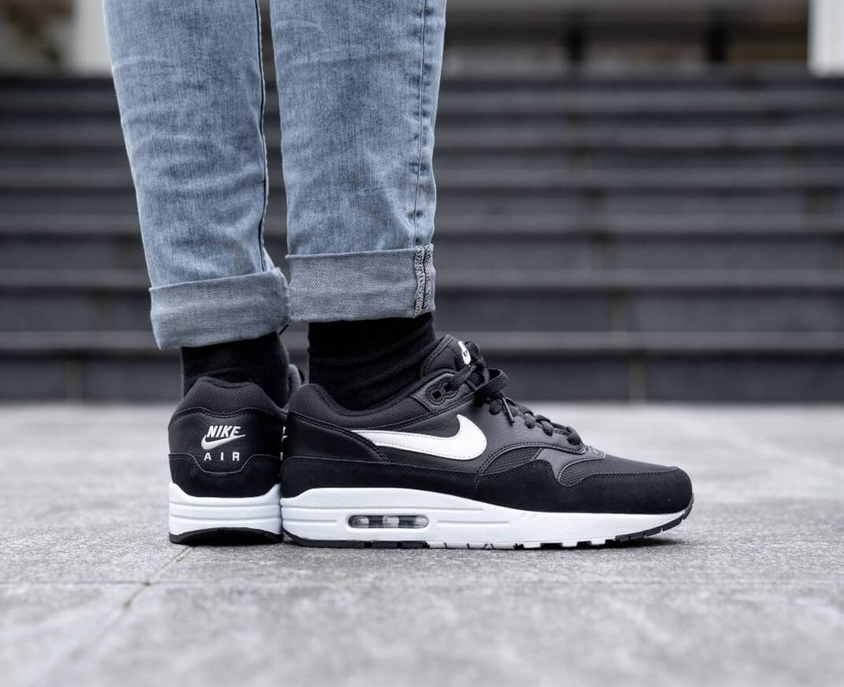 Nike Air Max 1 Zwart Heren Ah8145 014 16