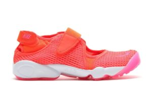 nike air rift orange orange sneakers damen