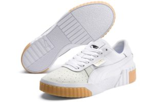 Puma Cali Exotic Dames Wit 369653 01 Witte Sneakers Dames