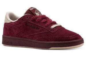 reebok club c 85 damen burgundy burgundy sneakers damen