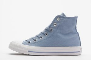 converse chucks all star high blau blaue sneakers damen
