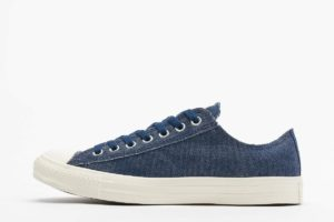 converse chucks all star ox blau blaue sneakers herren