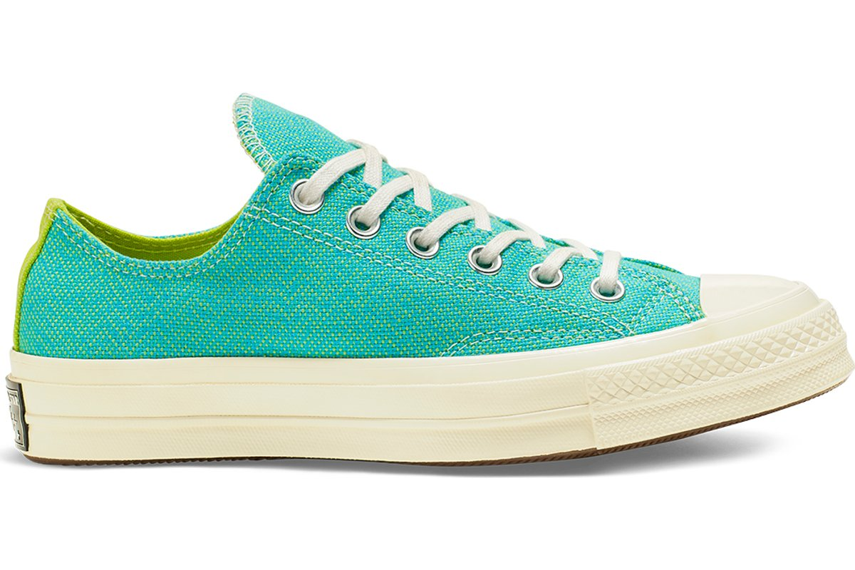 converse chuck 70 neon nights low top türkis · Sneakerkompass