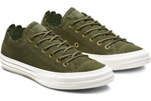 converse-chucks all star ox-damen-grün-563415c-grüne-sneaker-damen