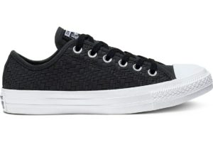 converse-chucks all star ox-damen-schwarz-564355c-schwarze-sneaker-damen