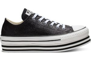 converse-chucks all star ox-damen-schwarz-564877c-schwarze-sneaker-damen