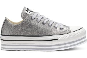 converse-chucks all star ox-damen-silber-564878c-silberne-sneaker-damen