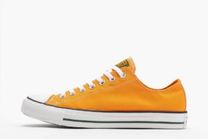 converse chucks all star ox orange orange sneakers herren