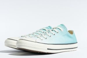 converse chucks all star ox türkis türkis sneakers damen