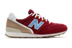 new balance 996 rot rote sneakers damen
