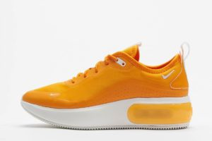 nike air max dia orange orange sneakers damen