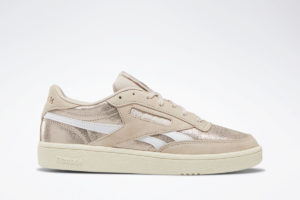 reebok revenge plus s damen gold goldene sneakers damen