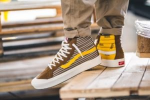 Review + Release: Vans Sneaker High Herren Braun