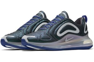 Nike By You Air Max 720 Damen Blau Bq7852 991 Blaue Sneaker Damen Nikeid